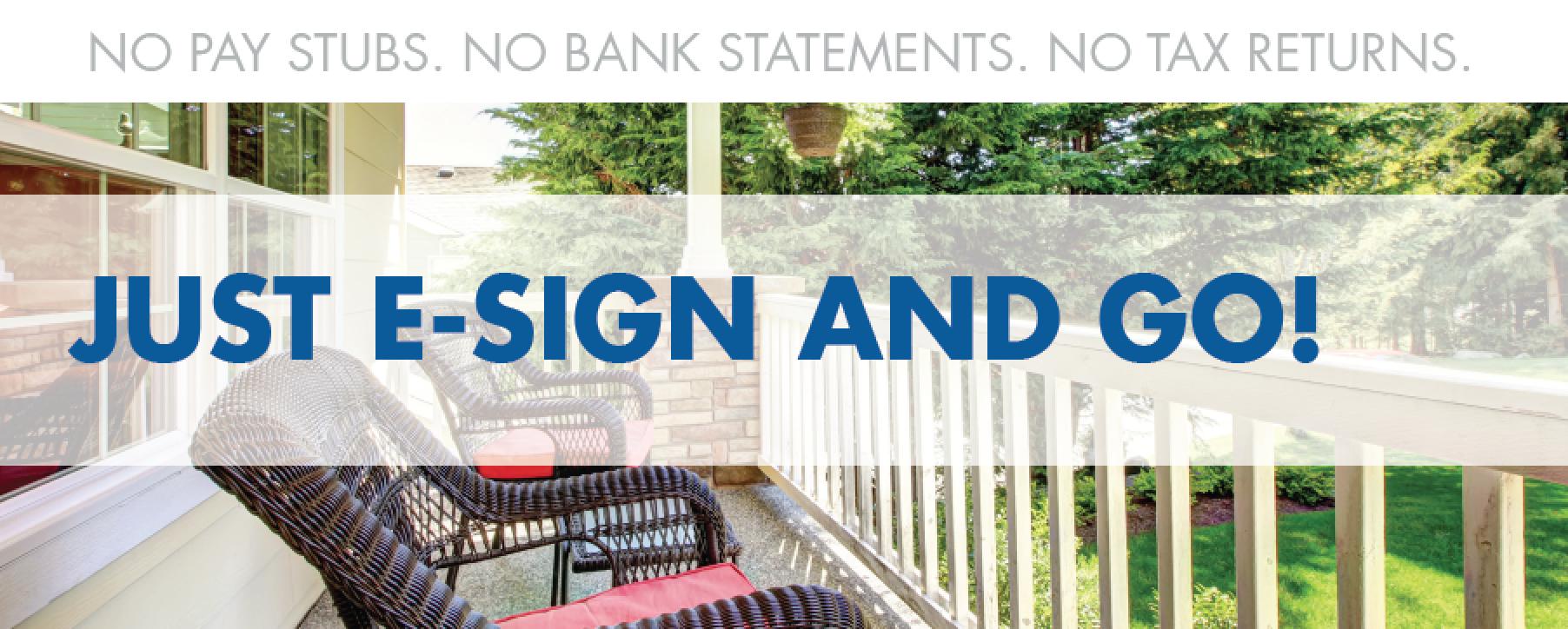 e-sign mortgage